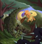 Applejack vs. Cragodile