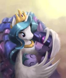Celestial Hugs by Bakuel