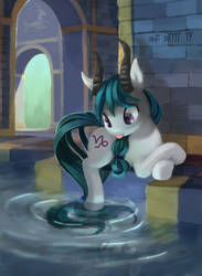 Capricorn Pony in the House of Waters