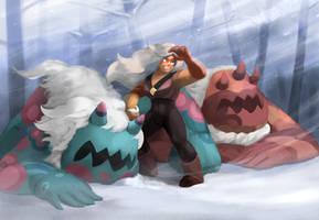 Jasper in a Blizzard