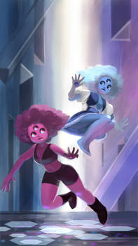 Garnet, Red and Blue