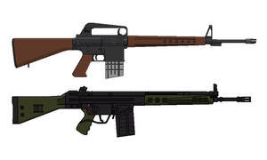 AR-10 vs HK G3. The Better Rifle? You Decide