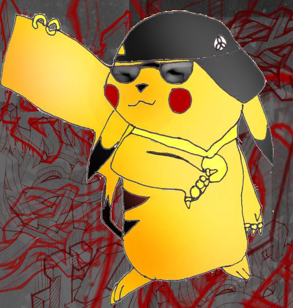 gangster pikachu - photo #30
