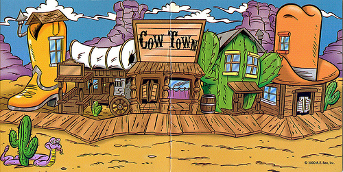 CowTown Backdrop by CCB-18