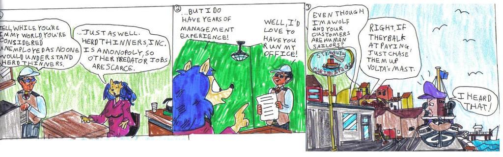Cajun and Kell Comic by CCB-18