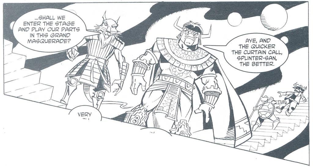 Aztec JR and Samurai Splinter by CCB-18