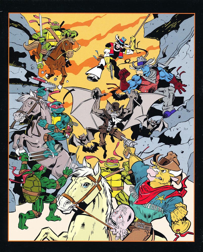 TMNT Moo Mesa PinUp by CCB18 on DeviantArt