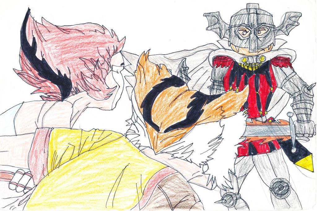 Thunderkittens vs Batlord by CCB-18