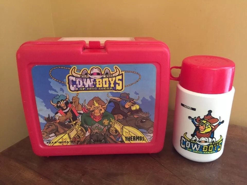 Moo Mesa Lunch Box + Flask by CCB-18
