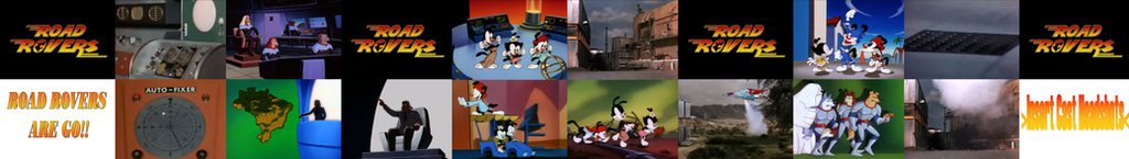Road Rovers 'Agents Warners' Sequence by CCB-18
