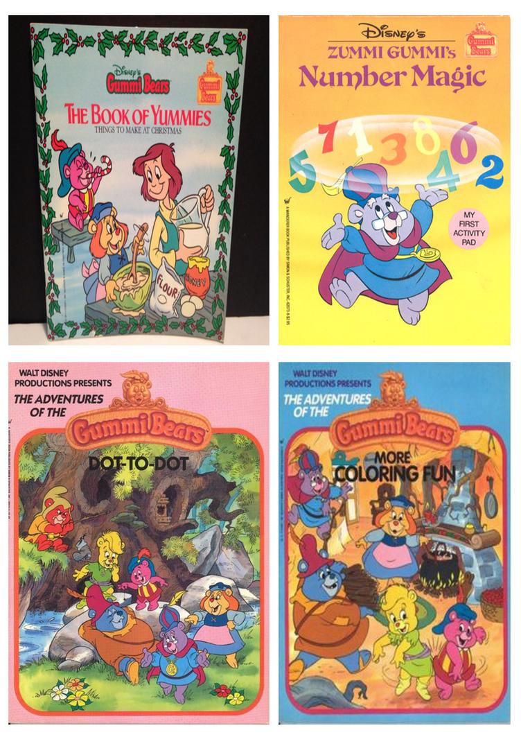 Gummi Bears Activity Books by CCB-18