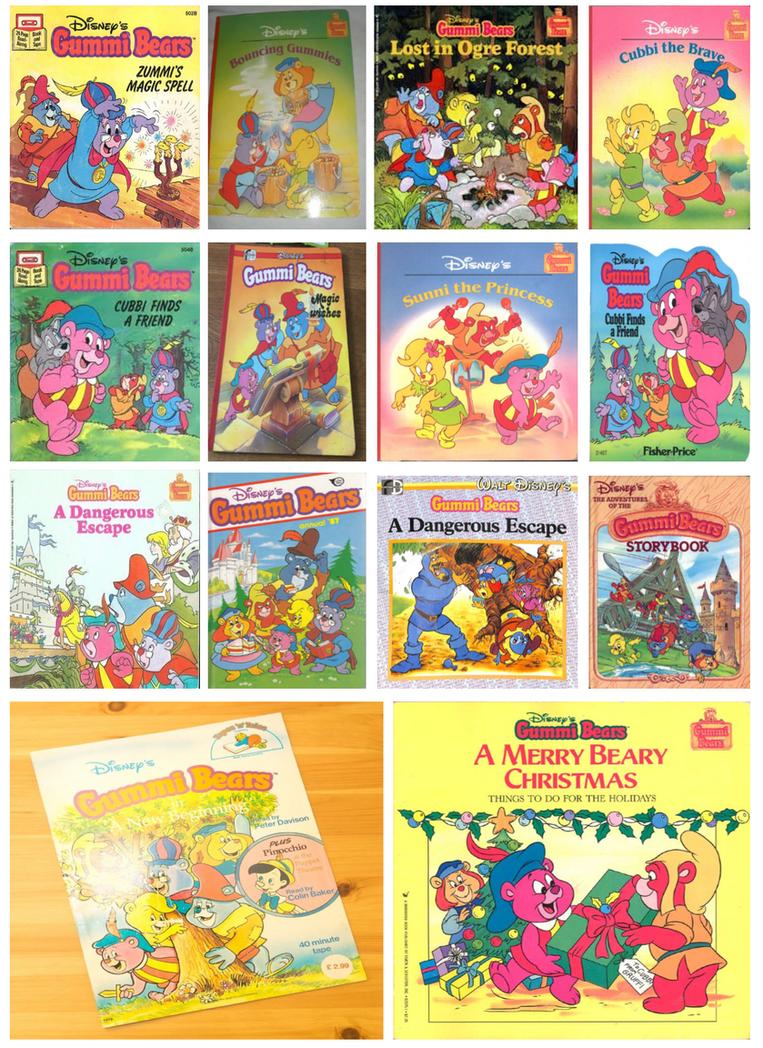 Gummi Bears Books by CCB-18