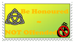''Be Honoured'' Stamp by CCB-18