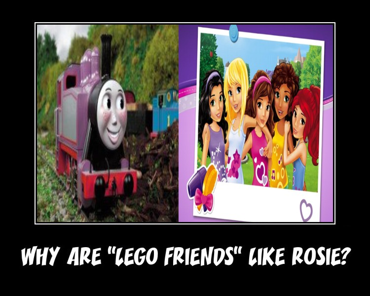 Rosie and LEGO Friends Motivator by CCB-18