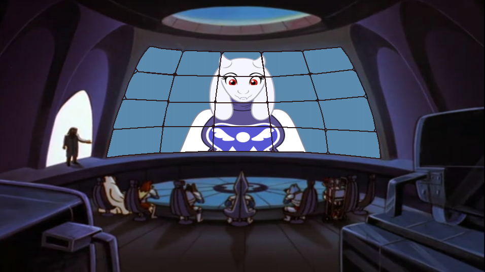 Rovers Office Screens - Toriel by CCB-18