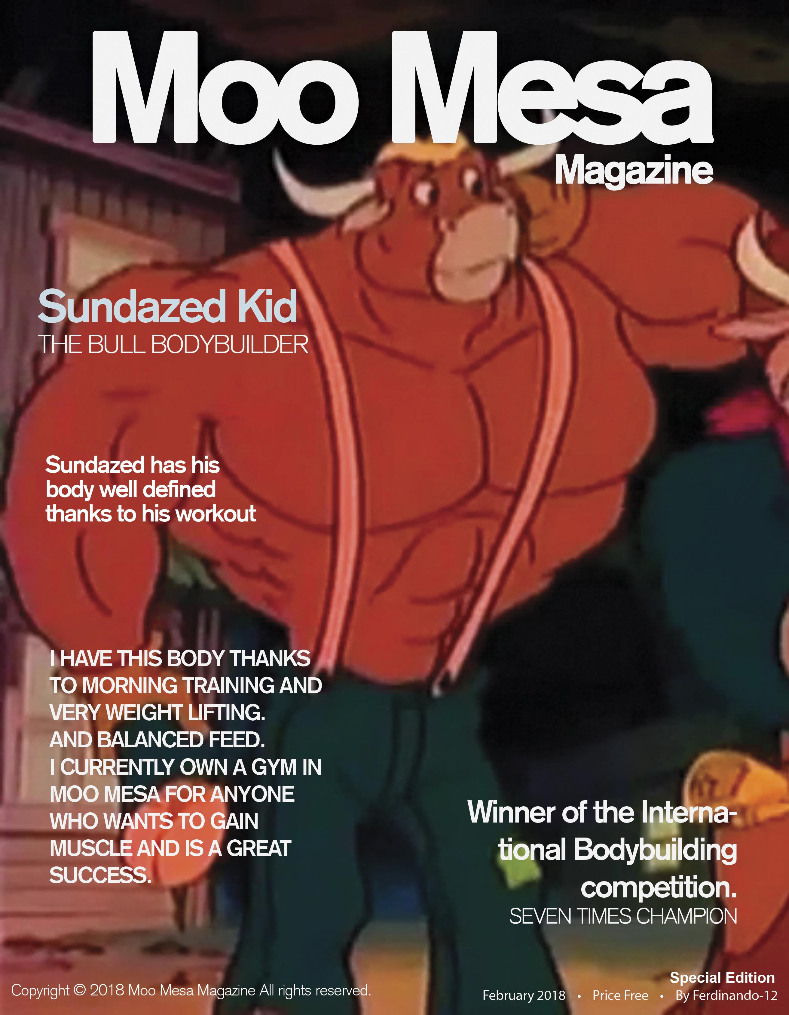 Moo Mesa Magazine #1: Sundazed Kid by CCB-18