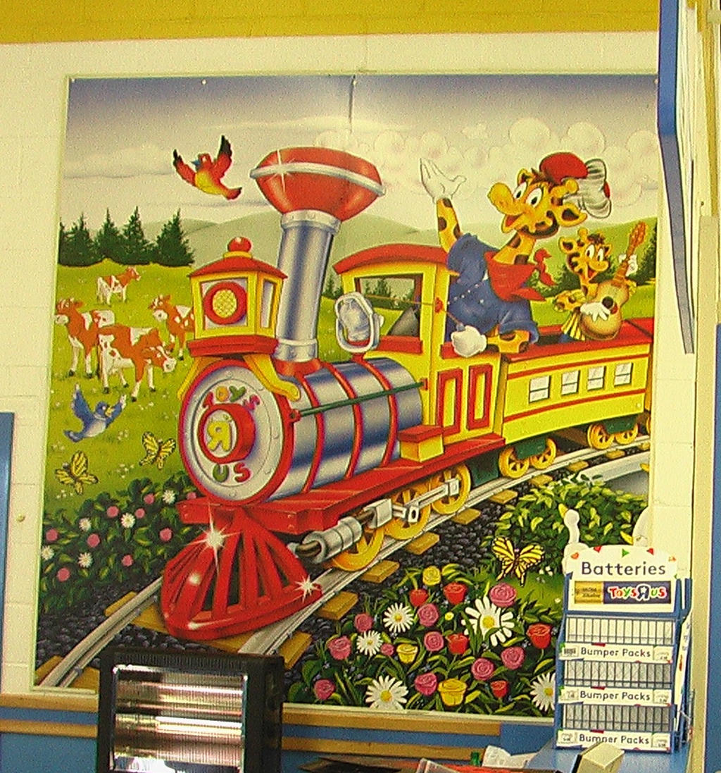 Toys 'R' Us Mural @ Basingstoke by CCB-18