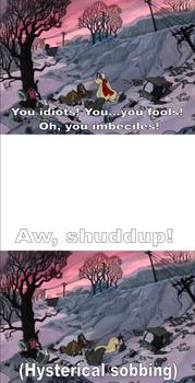 ''Shuddup Cruella'' Meme Base