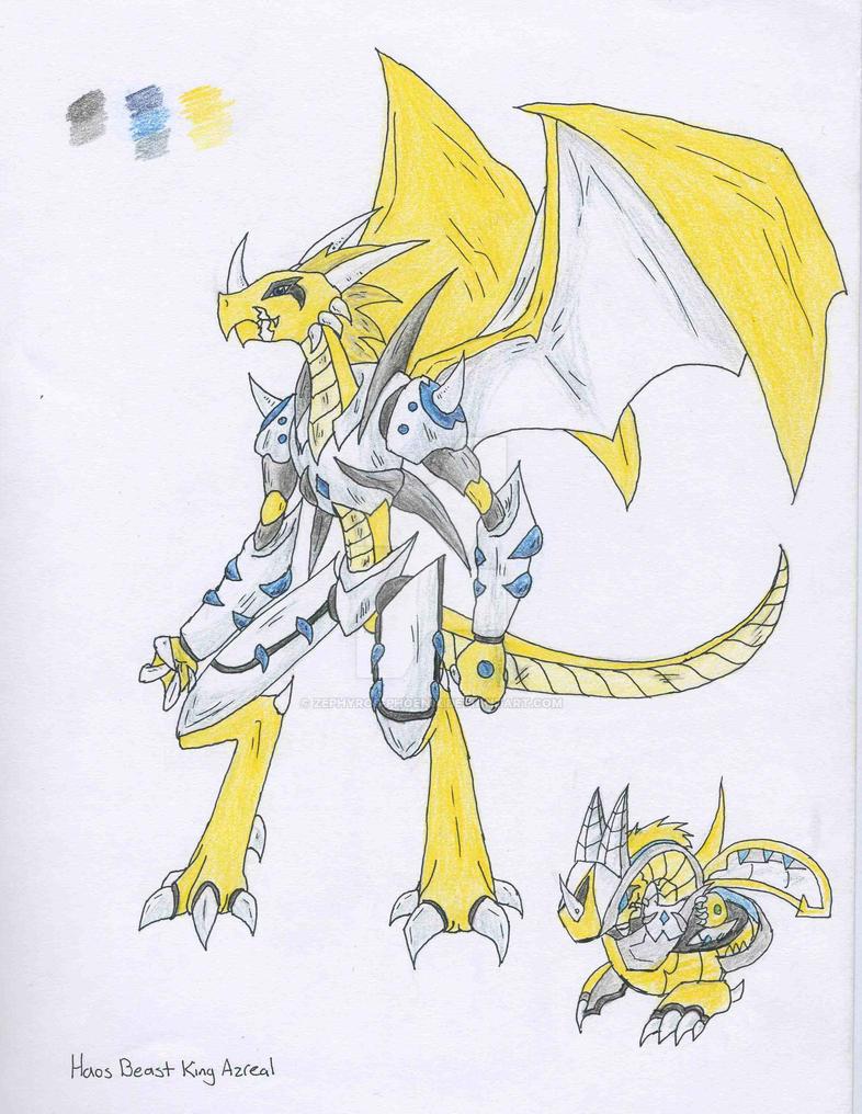 Bakugan Chara: Beast King Azreal by Zephyros-Phoenix
