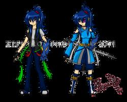 OC: Shizuka Hattori by Zephyros-Phoenix