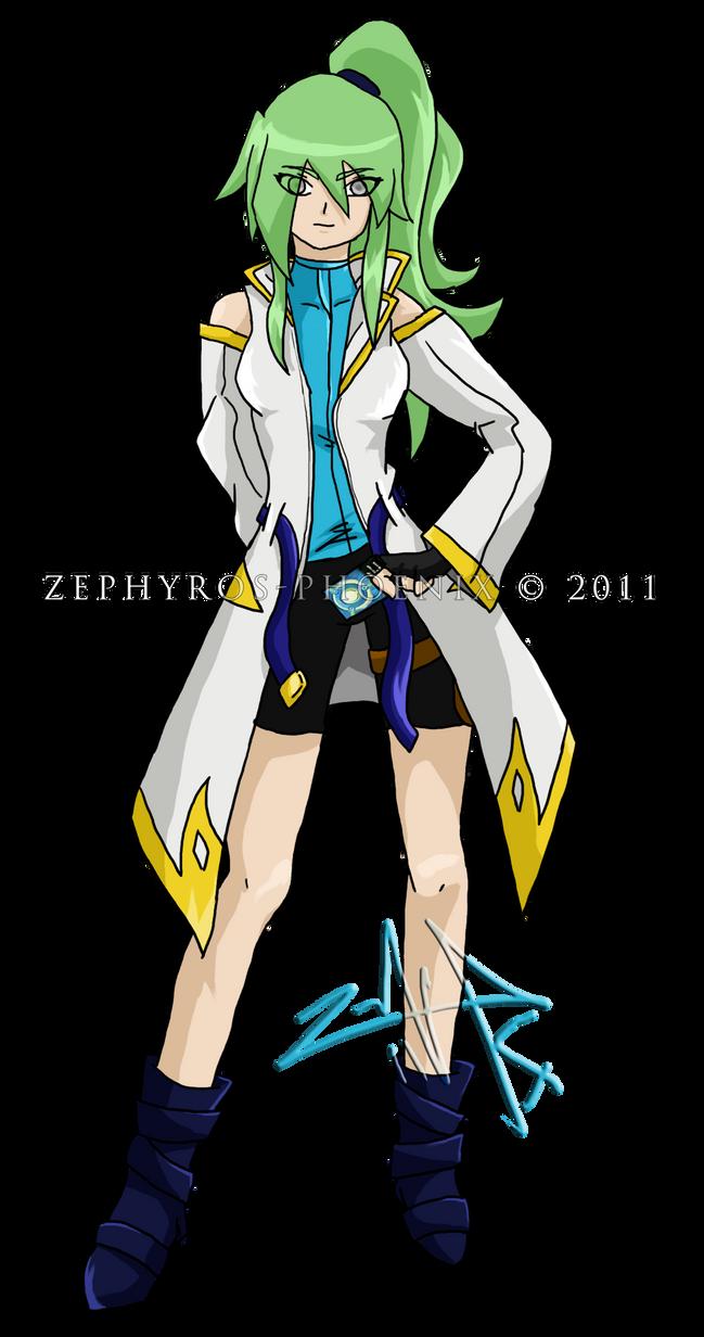 Bakugan Chara: Ayden MS Arc 2 by Zephyros-Phoenix