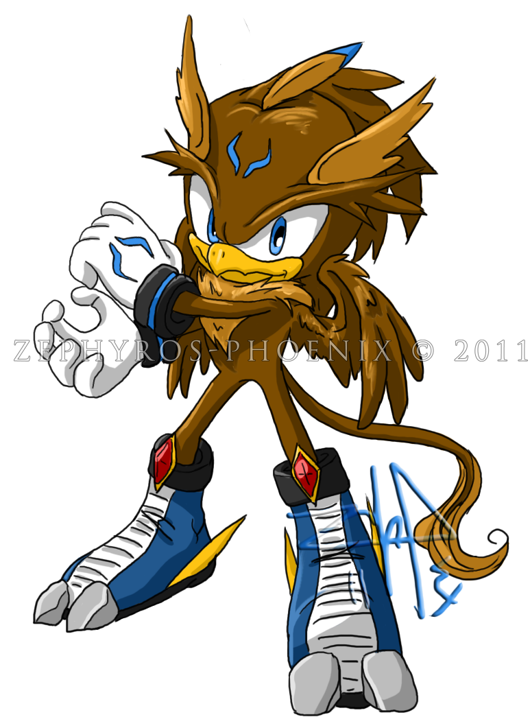 Sonic chara payne the griffin by zephyros phoenix on for The griffin