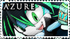 STAMP: Azure the Dragon by Zephyros-Phoenix
