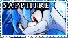 STAMP: Sapphire the Kelpie by Zephyros-Phoenix
