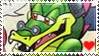 STAMP: Argyle the Crocodile by Zephyros-Phoenix