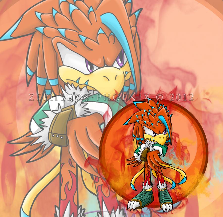 Garnett Mythos the Phoenix by Zephyros-Phoenix
