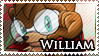 STAMP: William the Coyote by Zephyros-Phoenix