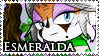 STAMP: Esmeralda the Fox by Zephyros-Phoenix