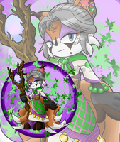 Esmeralda Divinus the Nine-tailed Fox by Zephyros-Phoenix