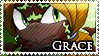 STAMP: Grace the Spider by Zephyros-Phoenix