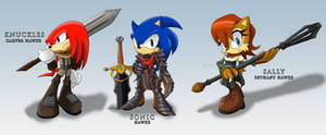 Sonic Age: Sonic, Sally and Knuckles