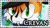 STAMP: Crevan the Fox by Zephyros-Phoenix