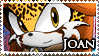 STAMP: Joan the Jaguar by Zephyros-Phoenix