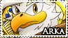 STAMP: Arka the Eagle by Zephyros-Phoenix