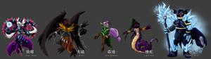 Shadow Strikers: Lang Yan and the Demon Quartet