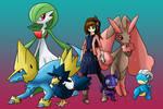 Shadow Strikers: Mala's Pokemon Team