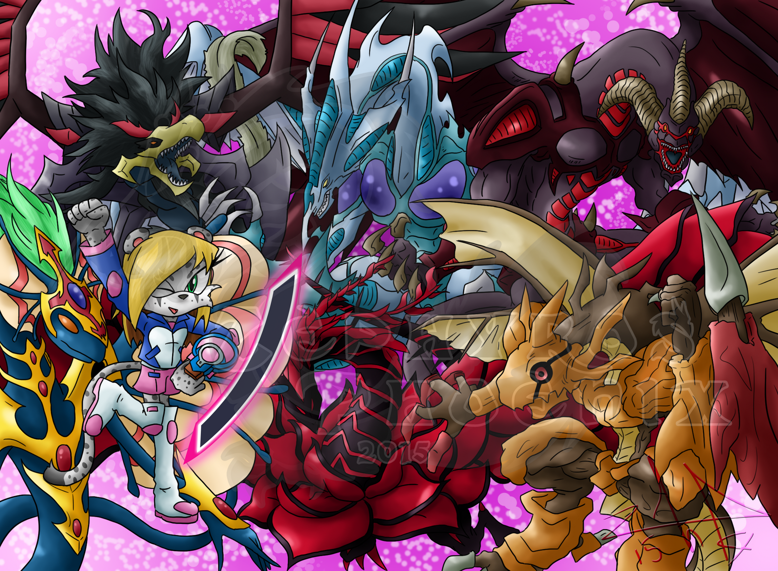 Jonell and the Signer Dragons by Zephyros-Phoenix on