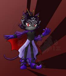 Commission: Moira the Vampire Cat