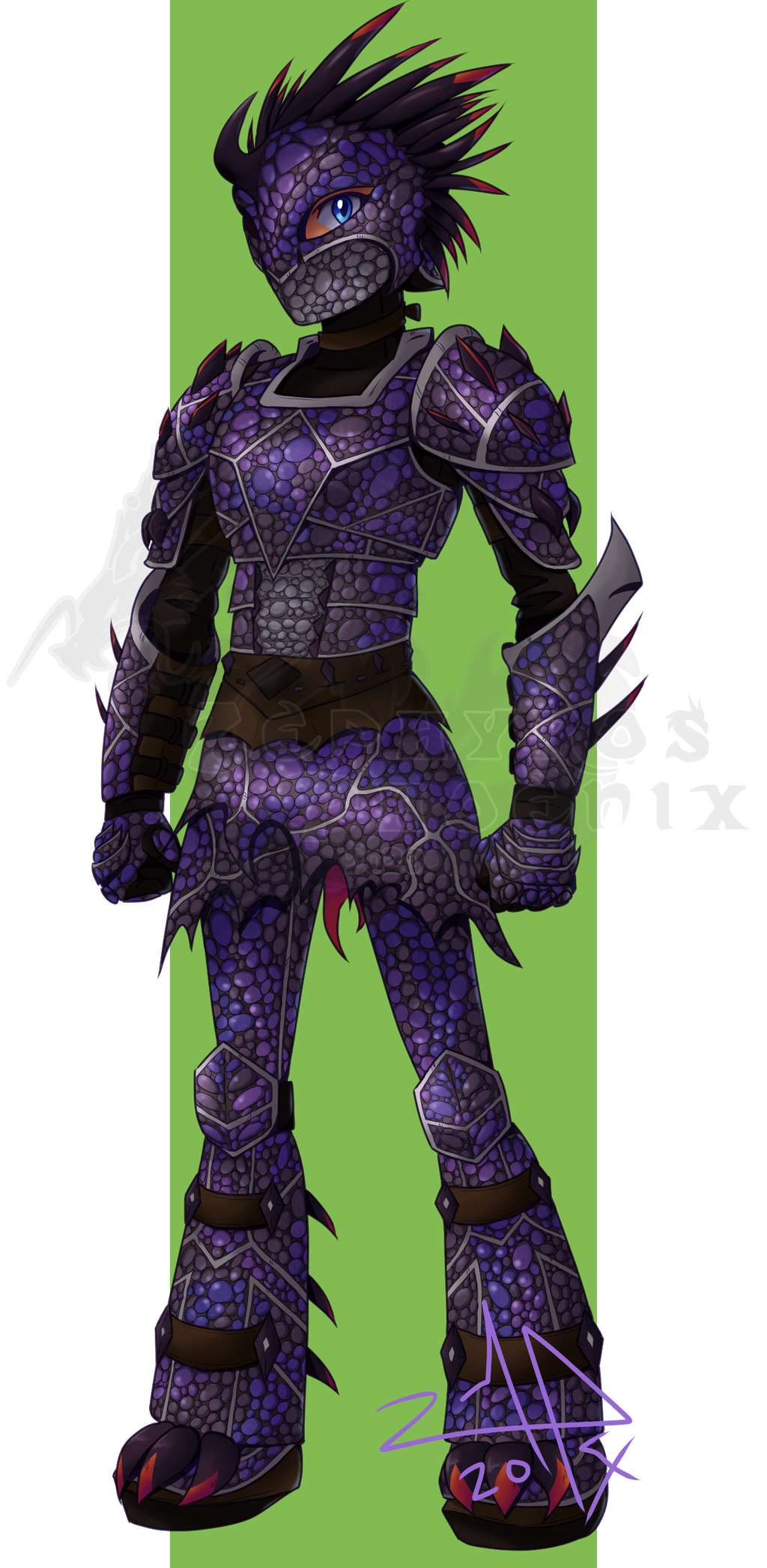 Sigrid S Dragon Scale Armor By Zephyros Phoenix On Deviantart It consists of the dragon mask, dragon breastplate and dragon greaves. dragon scale armor by zephyros phoenix