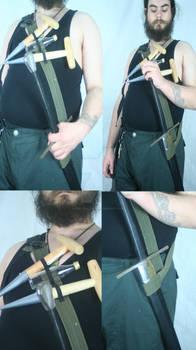 Post Apocalypse Sword Belt