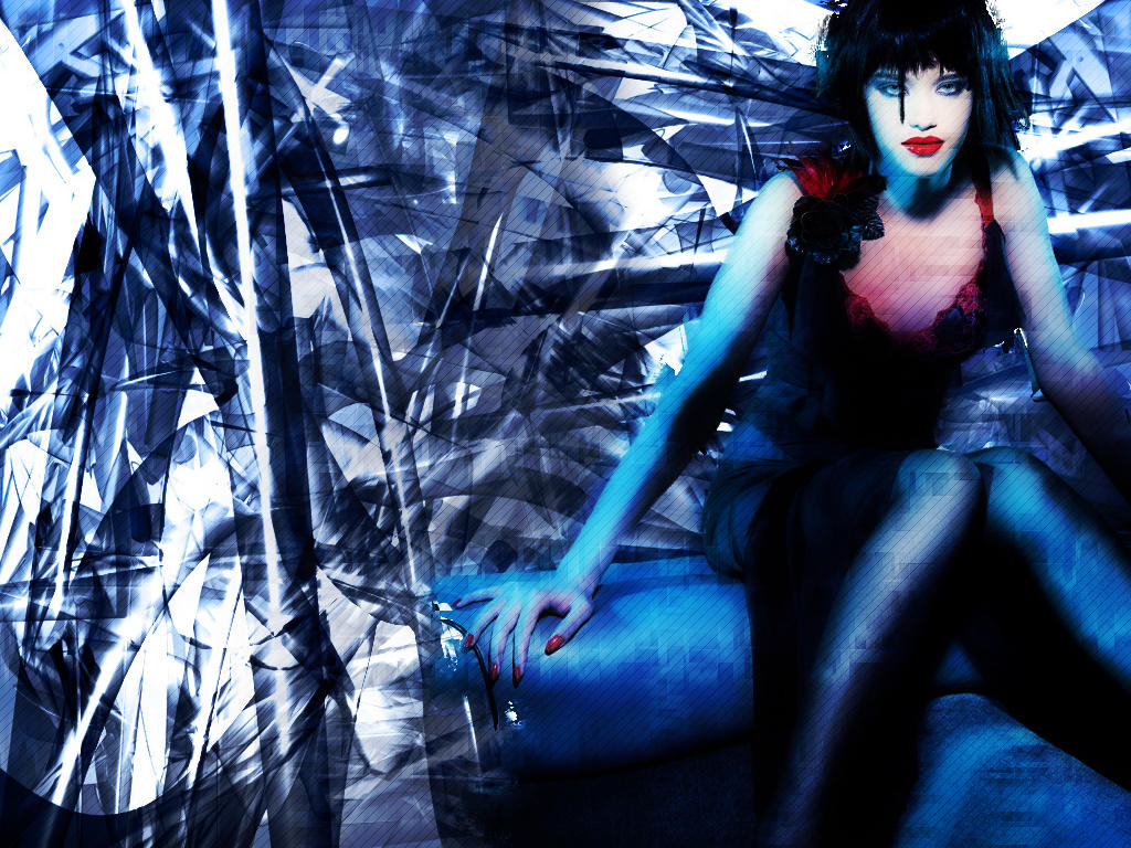 Lust in Blue by mirabilis
