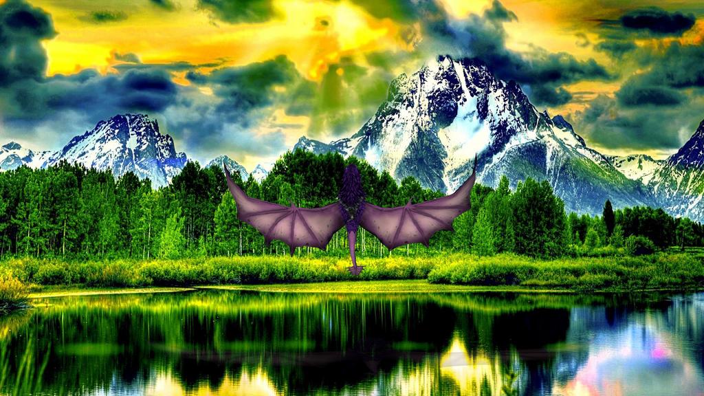 Spirit flying free by OctiseTheNightFury