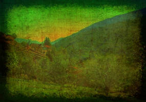 MY HOME IN THE MOUNTAINS manip by bluesse