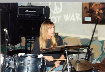 WHEN I WAS A ROCK DRUMMER 1 by bluesse
