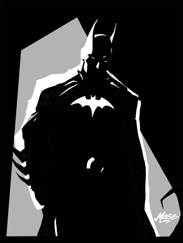 "CGTalk | Batman tattoo design needs that ""special something"" Batman Silhouette"