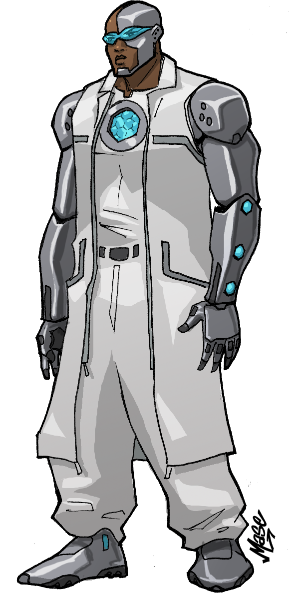 Cyborg Redesign by mase0ne